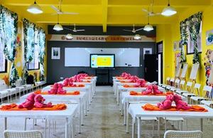 美院帮第七家「互联网美术课堂」项目落地江西宜黄二都学校