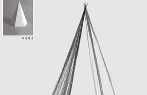 六棱锥体结构怎么画
