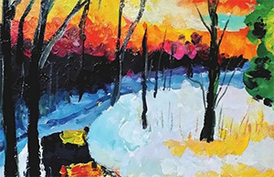 绘童年少儿美术系列教程-风景写生