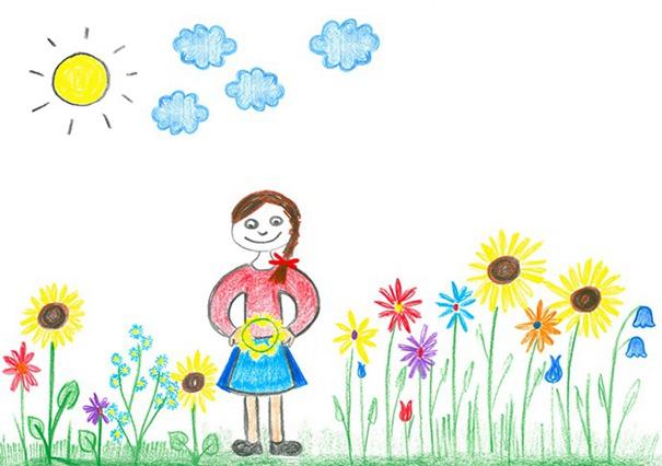 西方儿童美术作品