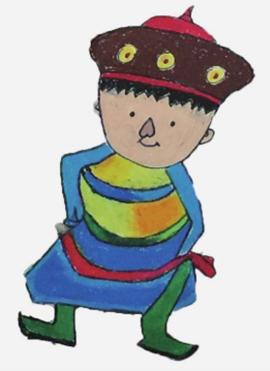 蒙古族娃娃