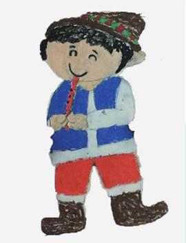 塔吉克族娃娃