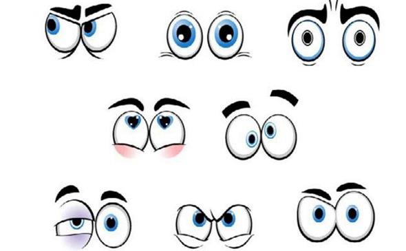 小班幼儿美术欣赏_幼儿园小班优质课美术教案「奇特的眼睛」-安妮菲哥