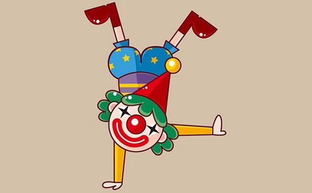 6岁少儿画画课程教案「调皮的小丑」