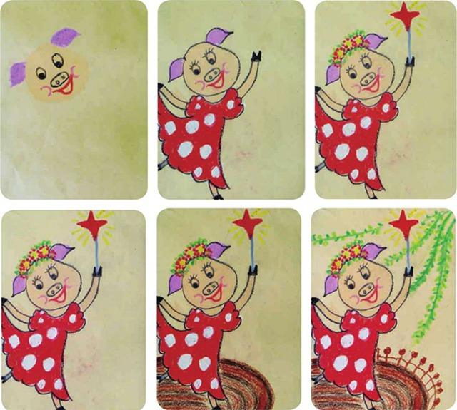 猪的绘画步骤