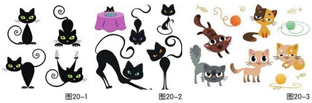 猫(图20-1、图20-2、图20-3)