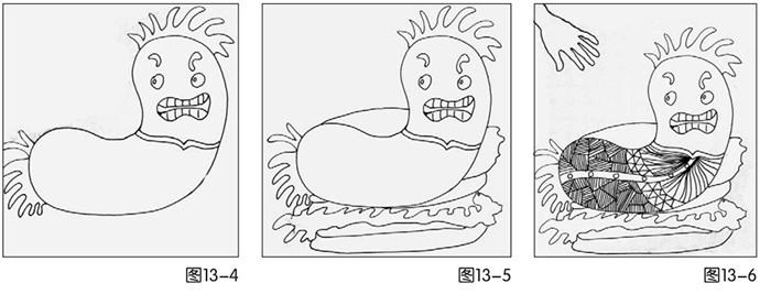 美食绘画步骤图