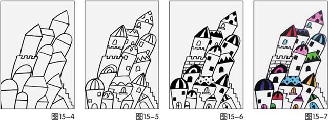房子绘画步骤图