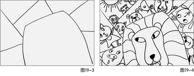 狮子绘画步骤图