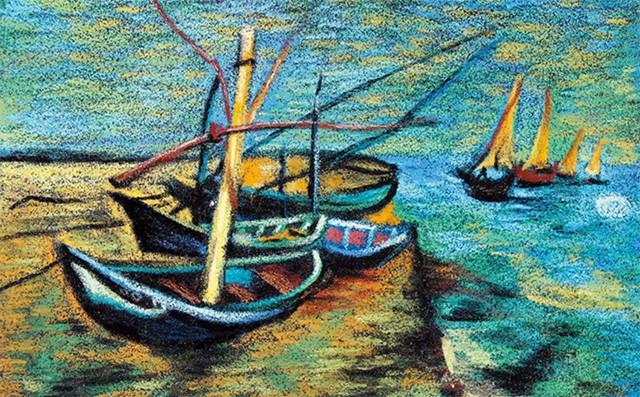 儿童美术课程教案「岸边的船」