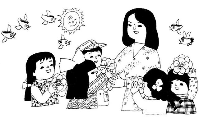 儿童组合画的画法步骤