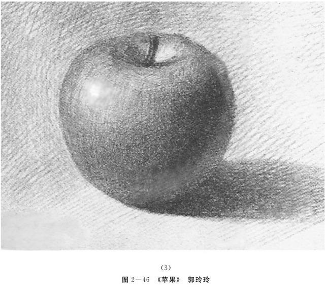 苹果的画法解析图