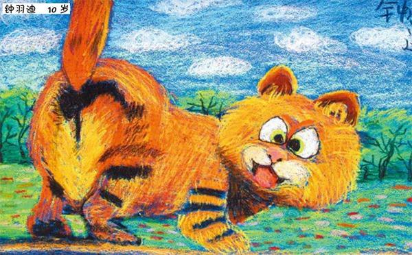 加菲猫美术作品
