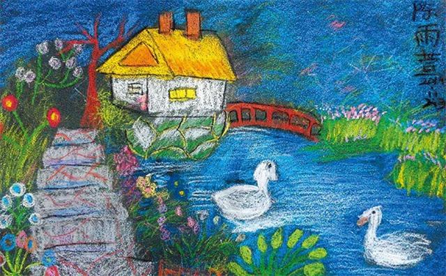 儿童绘画课程教案「漂亮的房子」