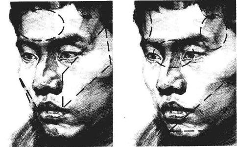 素描人物头像步骤图十