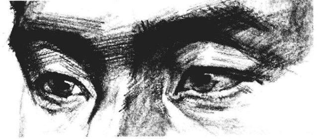 素描人物头像步骤图七