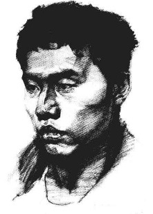 素描人物头像步骤图九