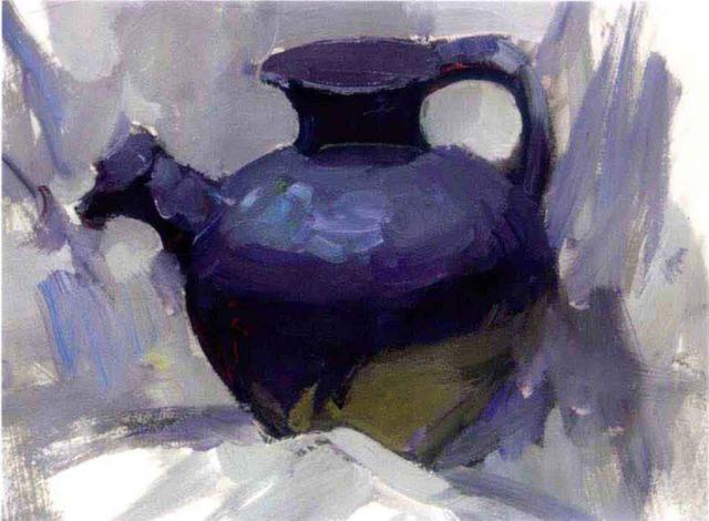 色彩陶罐的画法步骤四