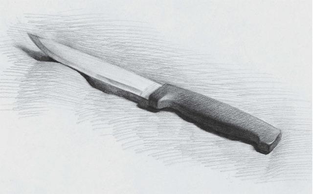 素描水果刀