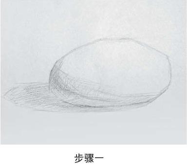 素描土豆的画法步骤一