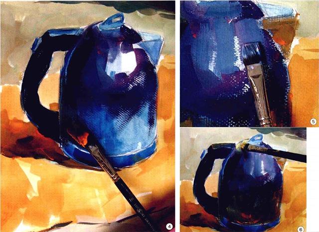 色彩不锈钢水壶步骤图(四至六)