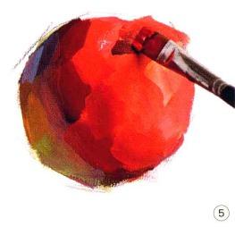 色彩苹果的画法解析图五