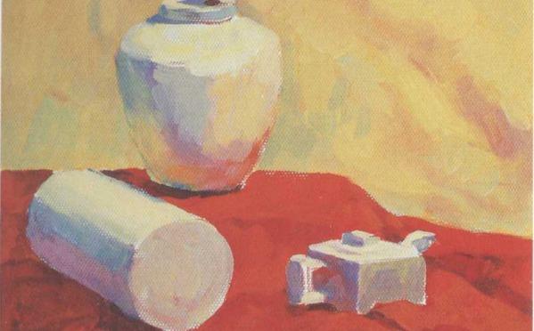 物体在特定环境下产生的色彩变化