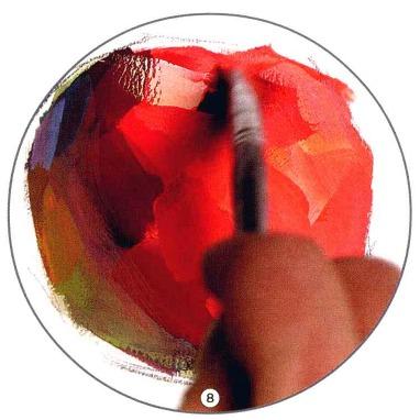 色彩苹果的画法解析图八