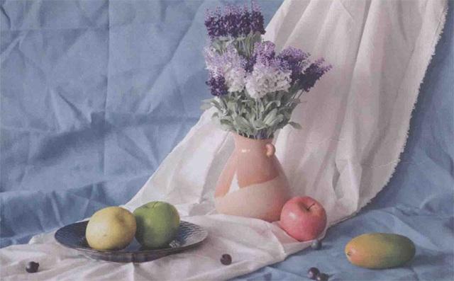 色彩花卉水果静物(图2-30)