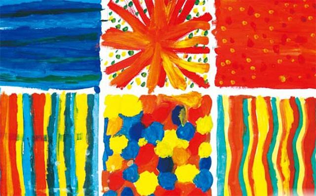 色彩的味道美术作品