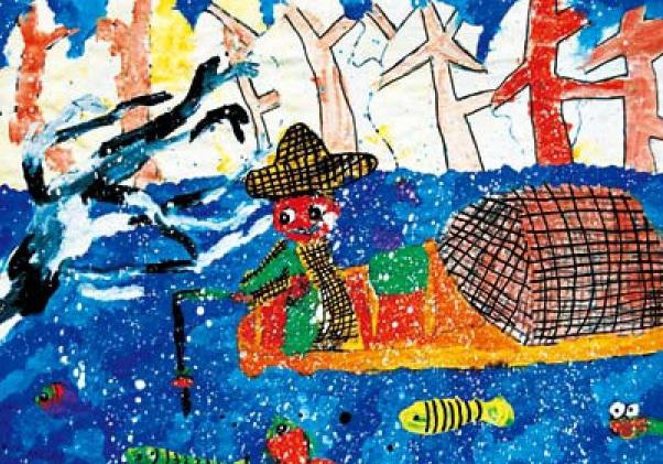 儿童绘画作品欣赏