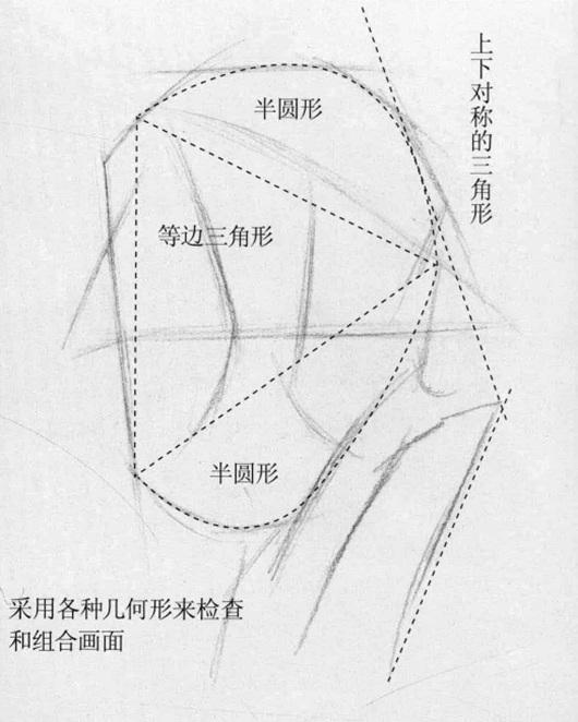 石膏像几何剖析