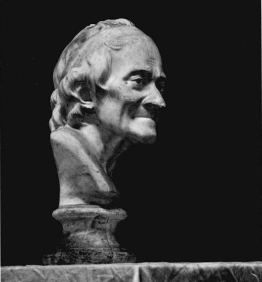 伏尔泰石膏像