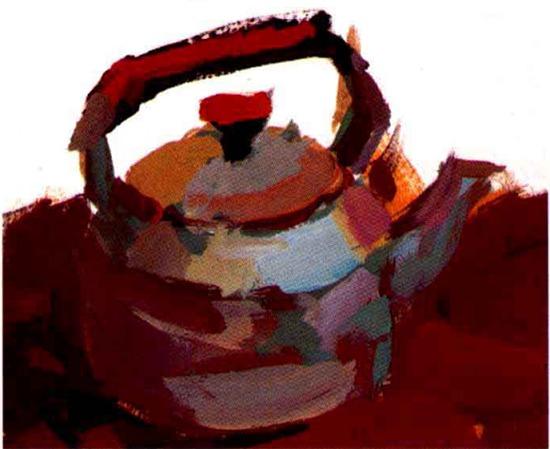 水粉水壶画法步骤二