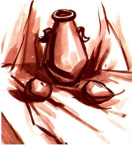 水粉罐子的画法解析图一