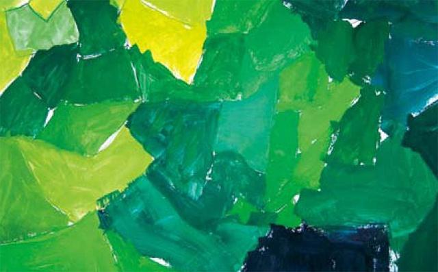 儿童美术绿色美术作品