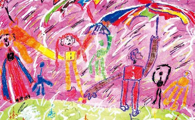 儿童美术作品