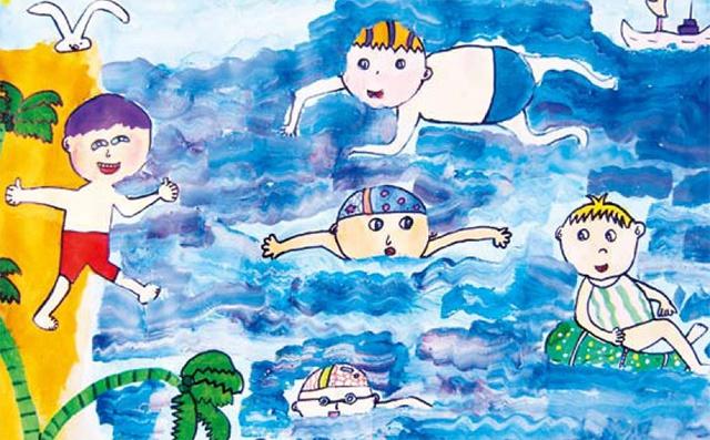 七年级儿童美术作品