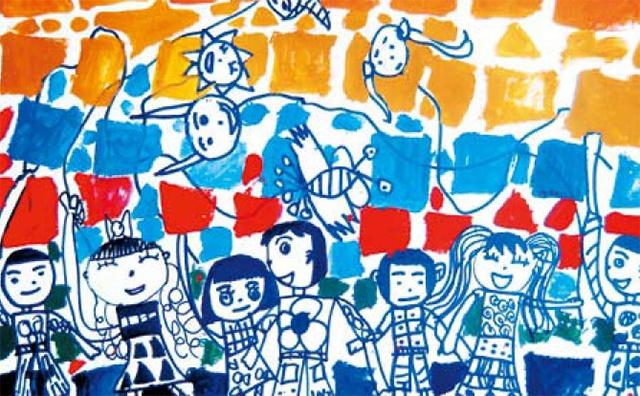 小班美术绘画活动作品
