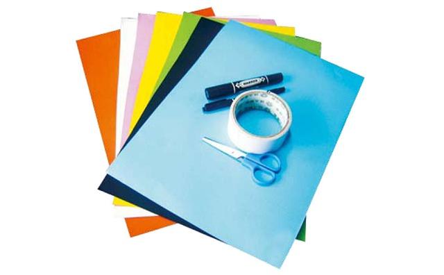 撕纸贴画所需要的工具