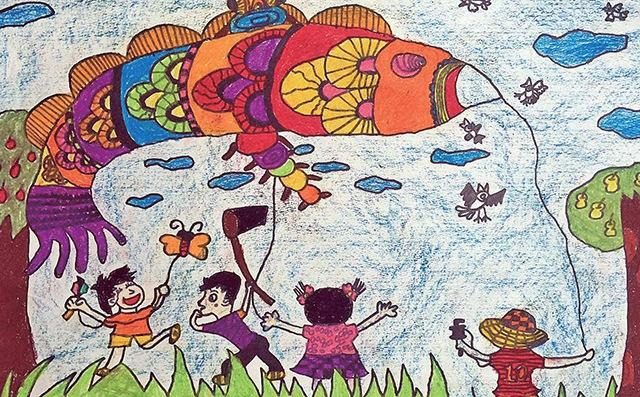 幼儿美术创作活动作品