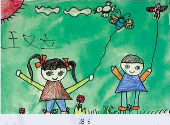 立体画期儿童画作品