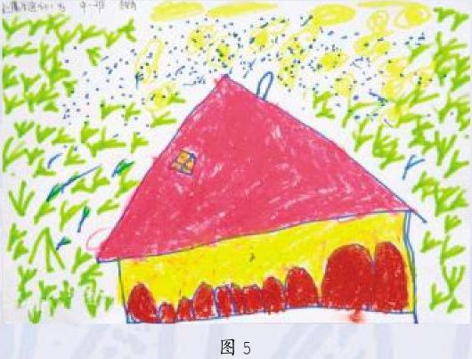 平面画期儿童画作品