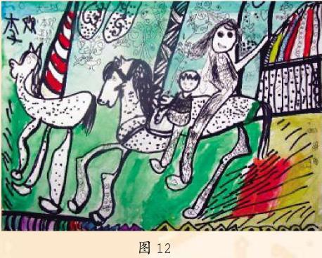 幼儿美术作品欣赏图12