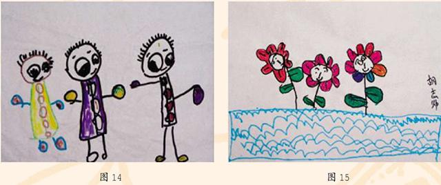 幼儿美术作品欣赏图14和图15