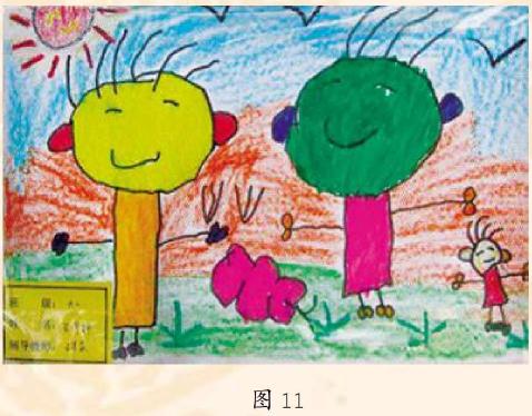 幼儿美术作品欣赏图11