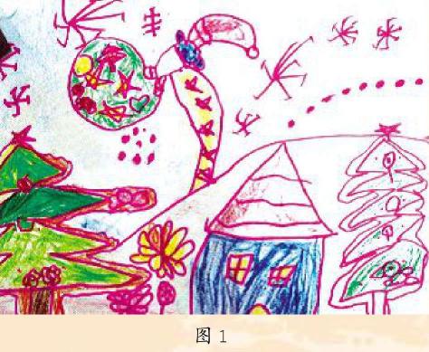幼儿美术作品图1