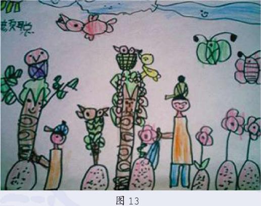 意象期幼儿美术作品