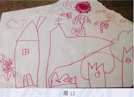 写实期幼儿美术作品