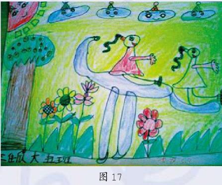 意象期幼儿绘画作品